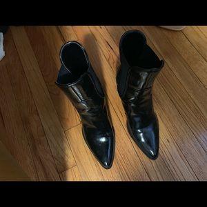 Zara black boots.